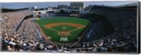 High angle view of a baseball stadium, Yankee Stadium, New York City, New York State, USA Fine Art Print