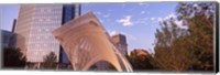Myriad Botanical Gardens bandshell, Oklahoma City, Oklahoma, USA Fine Art Print