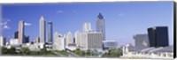 Downtown Atlanta, Georgia, USA Fine Art Print