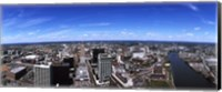 Aerial view of a cityscape, Newark, Essex County, New Jersey Fine Art Print