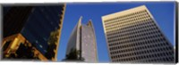 Skyscrapers in a city, Atlanta, Fulton County, Georgia Fine Art Print