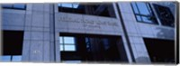 Facade of a bank building, Federal Home Loan Bank, Atlanta, Fulton County, Georgia, USA Fine Art Print