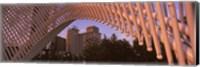 View from under the Myriad Botanical Gardens bandshell, Oklahoma City, Oklahoma, USA Fine Art Print