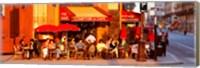Cafe, Paris, France Fine Art Print