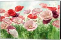Poppies Pleasure Fine Art Print