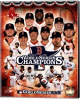 Boston Red Sox 2013 World Series Champions Composite Fine Art Print