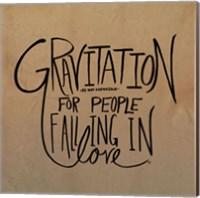 Love & Gravity Fine Art Print