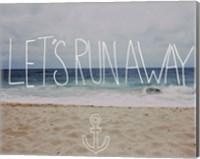 Let's Run Away - To the Sea Fine Art Print