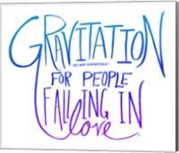 Love & Gravity II Fine Art Print