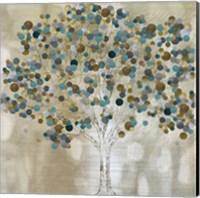 A Teal Tree Fine Art Print