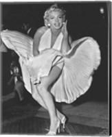 Marilyn Monroe 1954, New York City Fine Art Print