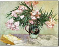 Oleanders and Books, 1888 Fine Art Print
