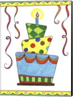 Birthday Cake 1 Fine Art Print