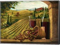 Vineyard Window Fine Art Print