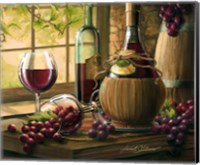 Wine By The Window I Fine Art Print