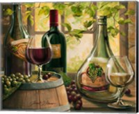 Wine By The Window II Fine Art Print