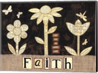 Faith Flowers Fine Art Print