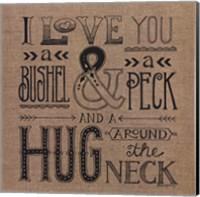 Hug Around the Neck Fine Art Print