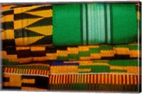 Kente Cloth, Artist Alliance Gallery, Accra, Ghana Fine Art Print