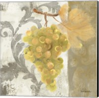 Acanthus and Paisley With Grapes II Fine Art Print