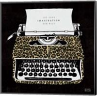 Analog Jungle Typewriter Fine Art Print