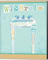 Bathroom Words Sink II Fine Art Print