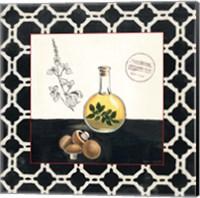 Oregano and Mushrooms Fine Art Print