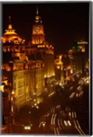 The Bund, Shanghai, China Fine Art Print