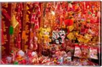 Chinese Ornaments, Hong Kong, China Fine Art Print