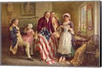 Betsy Ross, 1777 Fine Art Print