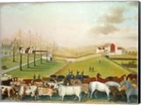 The Cornell Farm, 1848 Fine Art Print