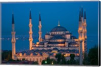 Blue Mosque, Istanbul, Turkey Fine Art Print