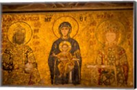Interior of Hagia Sophia, Istanbul, Turkey Fine Art Print