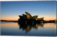 Sydney Opera House at Dawn, Sydney, Australia Fine Art Print