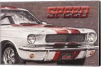 Speed Fine Art Print