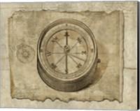 Antique Map II Fine Art Print