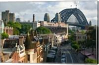 Australia, New South Wales, Sydney, George Street Fine Art Print