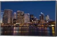 Darling Harbour, Sydney, New South Wales, Australia Fine Art Print