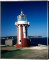Hornby Lighthouse, Sydney Harbor NP, New South Wales, Australia Fine Art Print