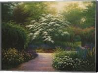 The Walled Garden Fine Art Print