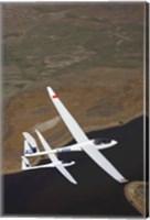 Gliders Racing near Omarama, South Island, New Zealand Fine Art Print
