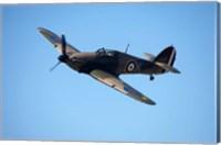 Hawker Hurricane, British and allied WWII Fighter Plane Fine Art Print