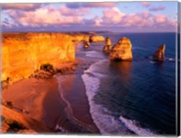Morning at 12 Apostles, Great Ocean Road, Port Campbell National Park, Victoria, Australia Fine Art Print