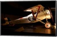 Nieuport 24 war plane, Marlborough, New Zealand Fine Art Print