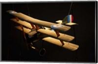 Sopwith triplane, War plane, Marlborough, New Zealand Fine Art Print