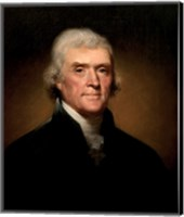 President Thomas Jefferson Fine Art Print