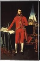 Napoleon Bonaparte in Red Fine Art Print