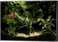 Kileskus aristotocus of the Middle Jurassic Period Fine Art Print