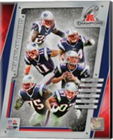 New England Patriots 2014 AFC Champions Team Composite Fine Art Print