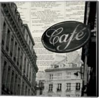 Cafe Fine Art Print